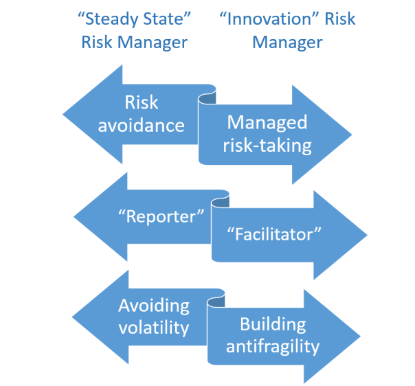 innovation risk manager